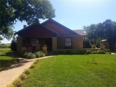 Weatherford Single Family Home For Sale: 503 S Bowie Drive