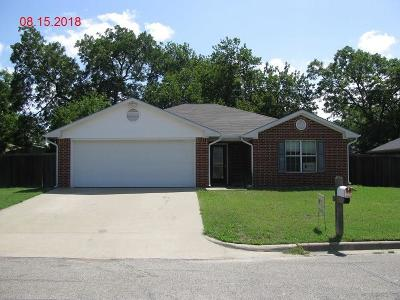 Mexia Single Family Home For Sale: 105 Oakwood Drive
