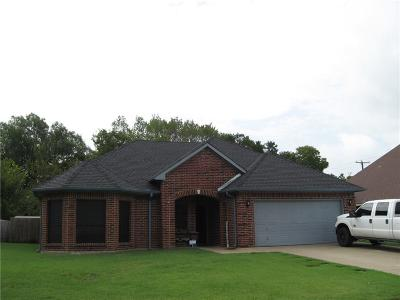 Terrell Single Family Home Active Option Contract: 102 Stonebriar Way