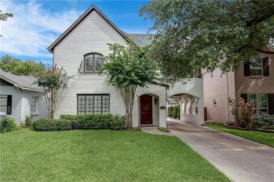 Fort Worth TX Single Family Home For Sale: $615,000