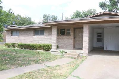 Comanche County, Eastland County, Erath County, Hamilton County, Mills County, Brown County Residential Lease For Lease: 1998 N Crestridge Street