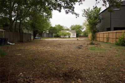Fort Worth Residential Lots & Land For Sale: 3209 Forest Park Boulevard