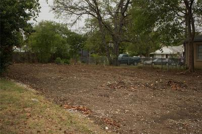 Fort Worth Residential Lots & Land For Sale: 3204 Forest Park Boulevard