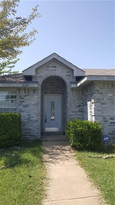 Dallas Single Family Home For Sale: 1629 Taylorcrest Drive
