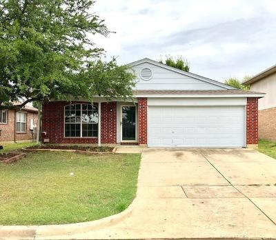 Mansfield TX Single Family Home For Sale: $174,900