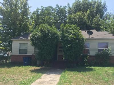 Dallas Single Family Home For Sale: 4000 Walker Street