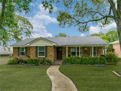 Dallas County Single Family Home For Sale: 9754 Parkford Drive