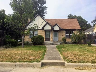 Fort Worth Single Family Home For Sale: 2709 Carter Avenue