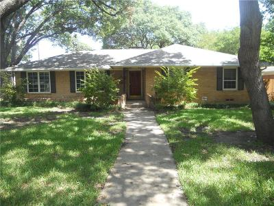 Richardson Single Family Home Active Option Contract: 536 Northill Drive