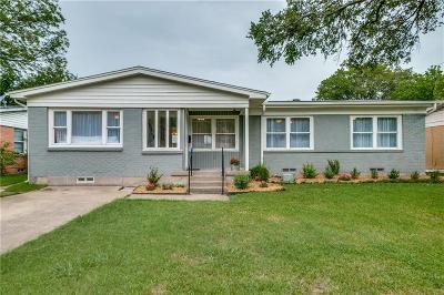 Dallas Single Family Home For Sale: 10745 Cotillion Drive