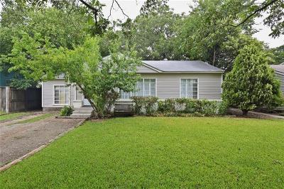 Dallas Single Family Home For Sale: 11731 Lippitt Avenue