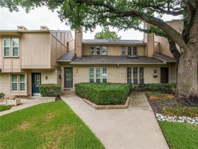 Dallas Condo For Sale: 7609 Woodthrush Drive #13