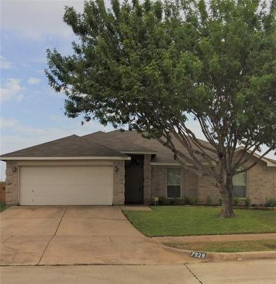 Arlington Single Family Home Active Option Contract: 7929 Copper Canyon Drive