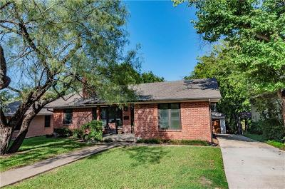 Dallas Single Family Home For Sale: 1518 Sylvan Avenue
