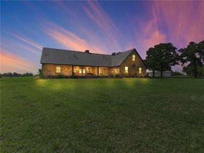 Weatherford Single Family Home Active Option Contract: 143 Prairie Lane
