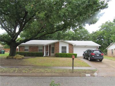 Sherman Single Family Home For Sale: 3110 N Calais Street