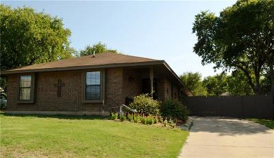 White Settlement Single Family Home Active Option Contract: 8261 Kender Lane