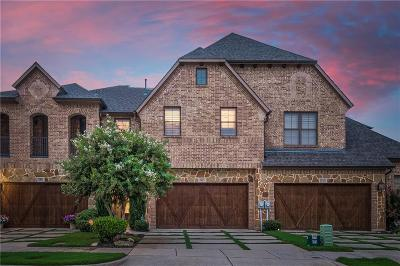 Carrollton Townhouse For Sale: 2825 Creekway Drive