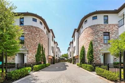 Dallas Townhouse For Sale: 3560 Dunminster Court