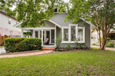 Dallas Single Family Home For Sale: 5626 Vickery Boulevard