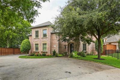 Dallas Single Family Home For Sale: 9505 Edith Lane