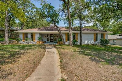 Fort Worth TX Single Family Home For Sale: $293,900