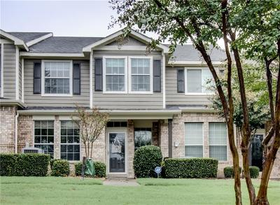 Mckinney Townhouse For Sale: 2313 Stonepark Place