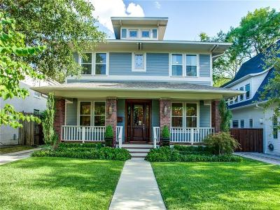 Dallas Single Family Home For Sale: 5632 Miller Avenue