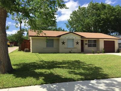 Mesquite Single Family Home For Sale: 2539 Wanda Drive