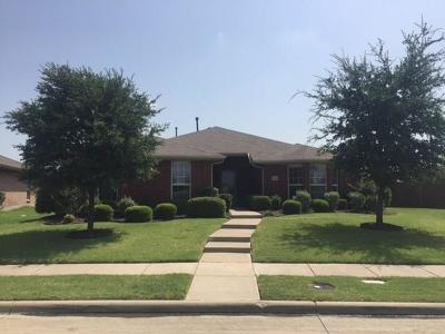 Frisco Residential Lease For Lease: 9506 Mirror Fountain Circle
