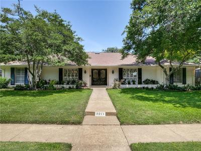 Dallas Single Family Home For Sale: 7211 Aberdeen Avenue