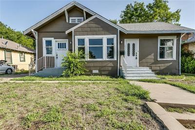 Fort Worth Multi Family Home For Sale: 1017 E Humbolt Street #A