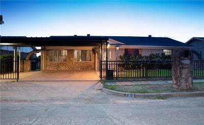 Dallas Single Family Home For Sale: 7315 Harold Walker Drive
