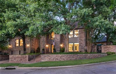 Dallas Single Family Home For Sale: 16037 Chalfont Circle