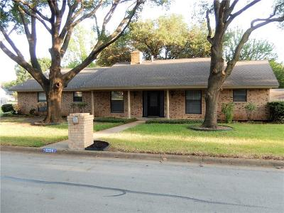 Haltom City Single Family Home For Sale: 6324 Circleview Drive