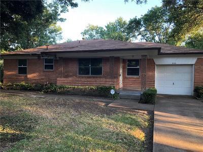 Dallas Single Family Home For Sale: 9730 Labett Street