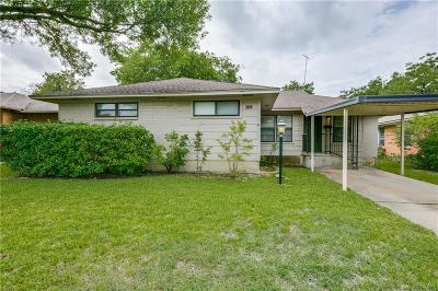 Dallas Single Family Home For Sale: 3118 San Vicente Avenue