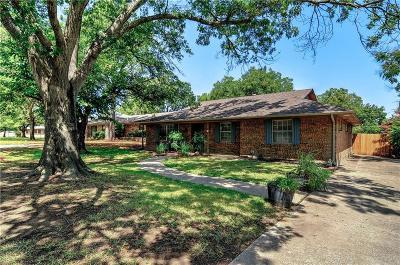 Sherman Single Family Home For Sale: 1605 Oakhill Drive