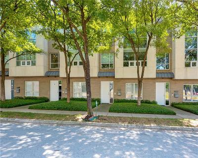 Dallas Townhouse For Sale: 4100 Travis Street #5