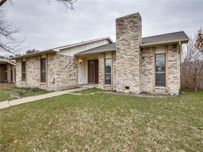 Carrollton Single Family Home Active Contingent: 2221 Marble Falls Drive