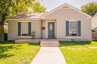 Fort Worth TX Single Family Home For Sale: $187,900