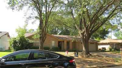 Arlington Single Family Home For Sale: 1702 Manchester Drive
