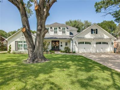 Dallas Single Family Home For Sale: 6517 Blanch Circle