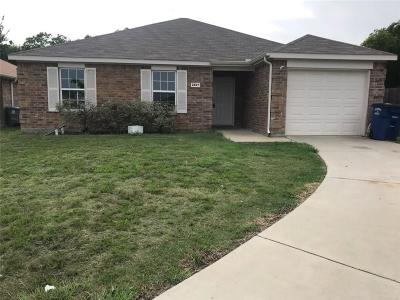 Dallas Single Family Home For Sale: 2827 Don Street