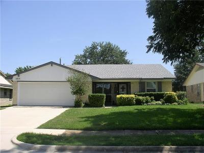 Mesquite Single Family Home For Sale: 2608 Belhaven Drive