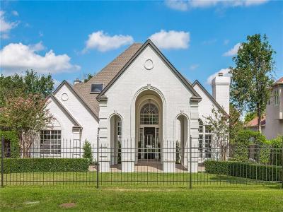 Dallas Single Family Home For Sale: 6543 Churchill Way