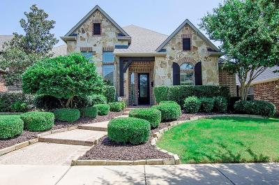 Lewisville Single Family Home Active Option Contract: 429 S Hampton Court