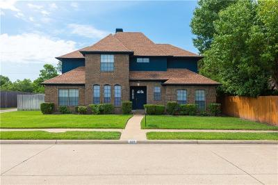 Mesquite Single Family Home For Sale: 318 Meadowcreek Drive