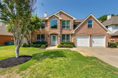 Grapevine Single Family Home Active Option Contract: 2104 S Winding Creek Drive