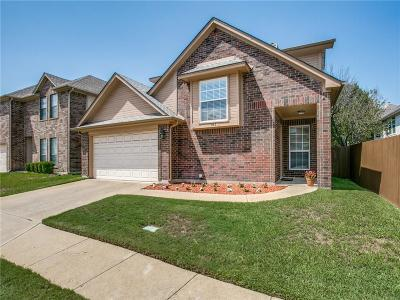 Plano Single Family Home Active Option Contract: 781 Eiffel Drive